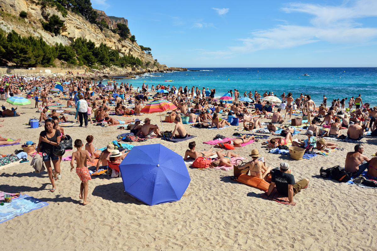 plage Cassis en Provence