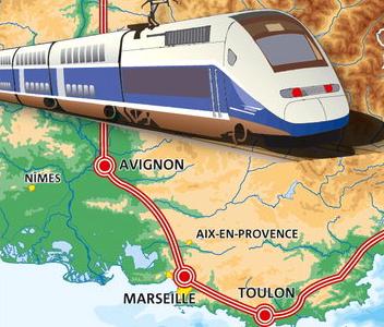 TGV pour la region PACA